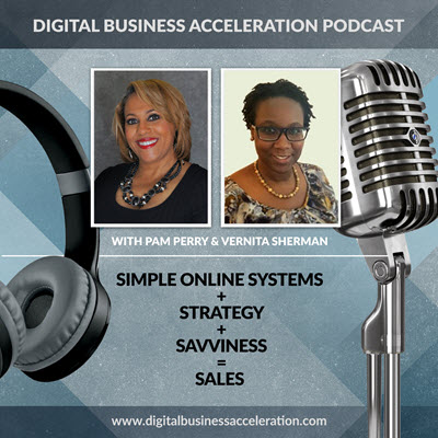 digital business acceleration podcast cover