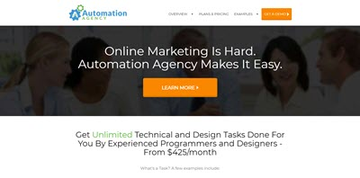 automation agency website