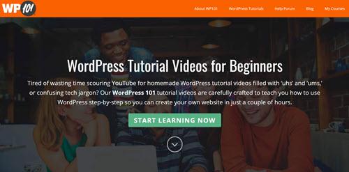 wordpress tutorials from wp101